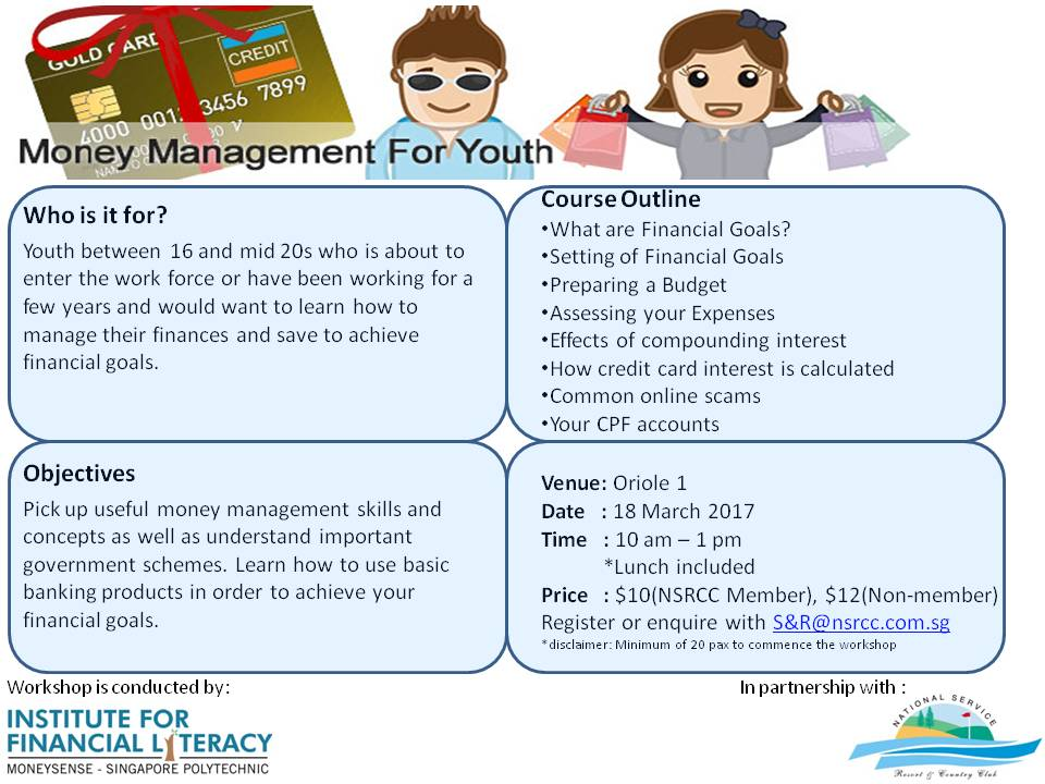 Money Management For Youth National Service Resort