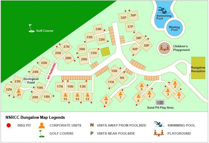 Layout map | National Service Resort & Country Club