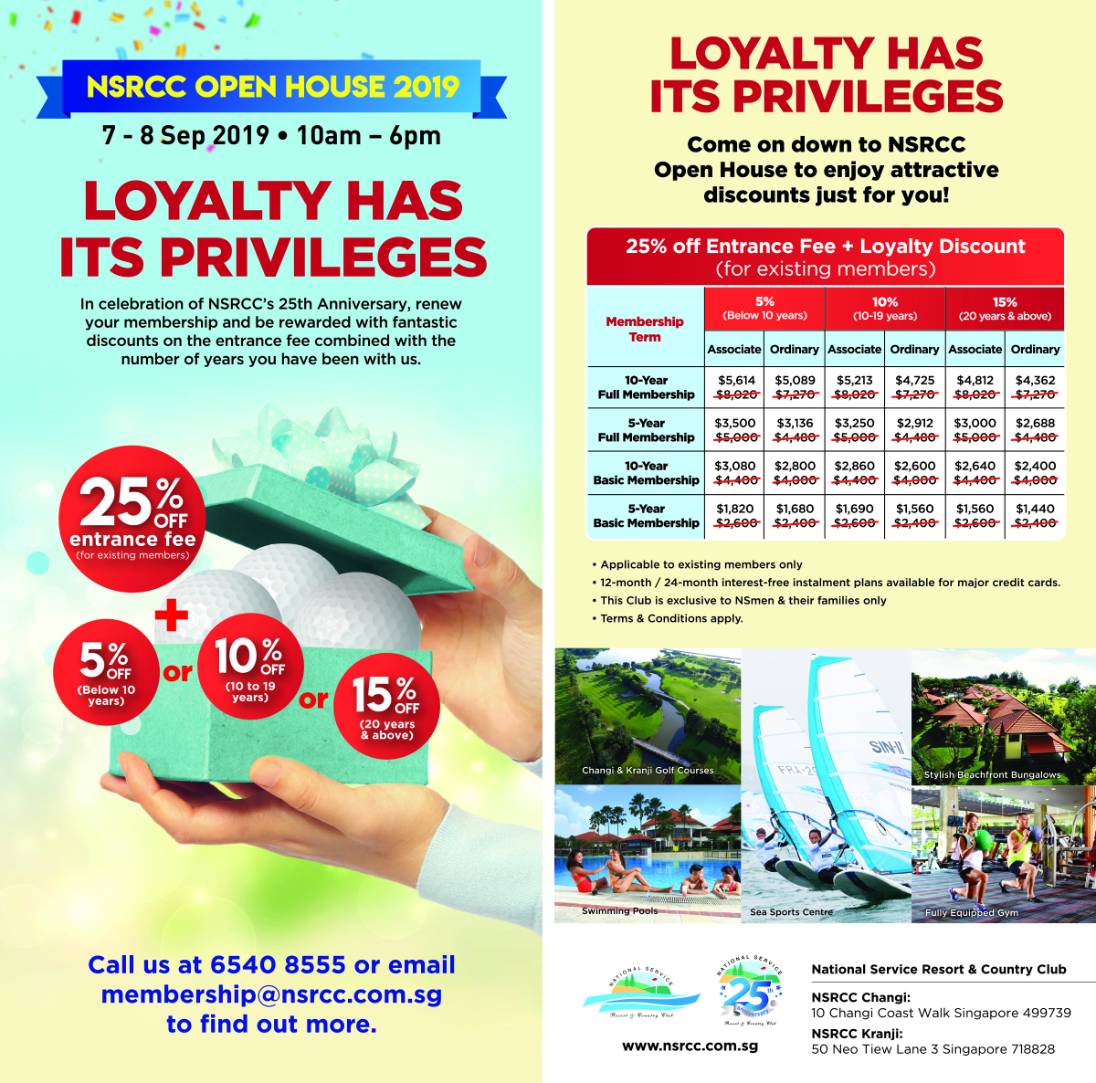 Golf Course Singapore and Country Club Promotions| NSRCC